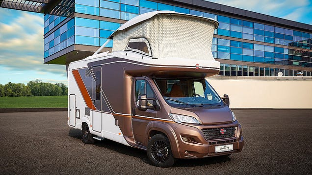 An Inflatable Office Pops Out of This Compact RV s Roof