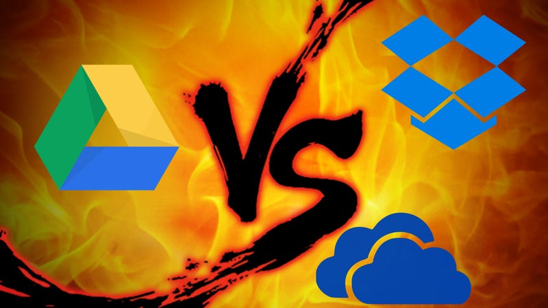 Illustration for article titled File Syncing Showdown: Google Drive vs. Dropbox vs. OneDrive