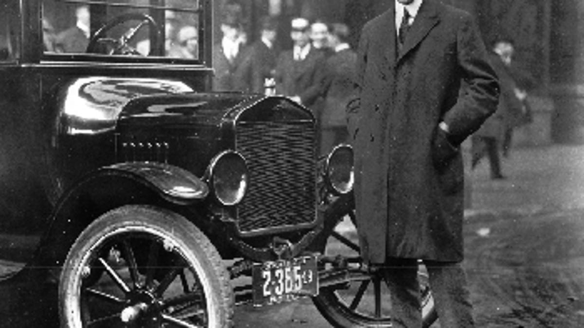 How Henry Ford And Thomas Edison Killed The Electric Car 1950 Headlight Switch Wiring