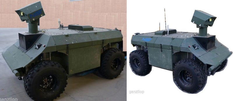 Illustration for article titled For Sale on eBay: Military Vehicle To Start Your Robot Army