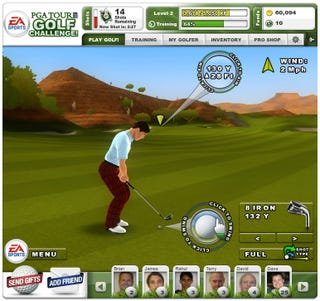 Illustration for article titled Facebook Hits The Links With PGA Tour Golf Challenge