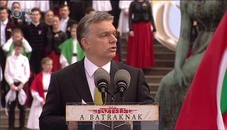 Illustration for article titled Orbán Viktor az uborka görbületéről is beszélt
