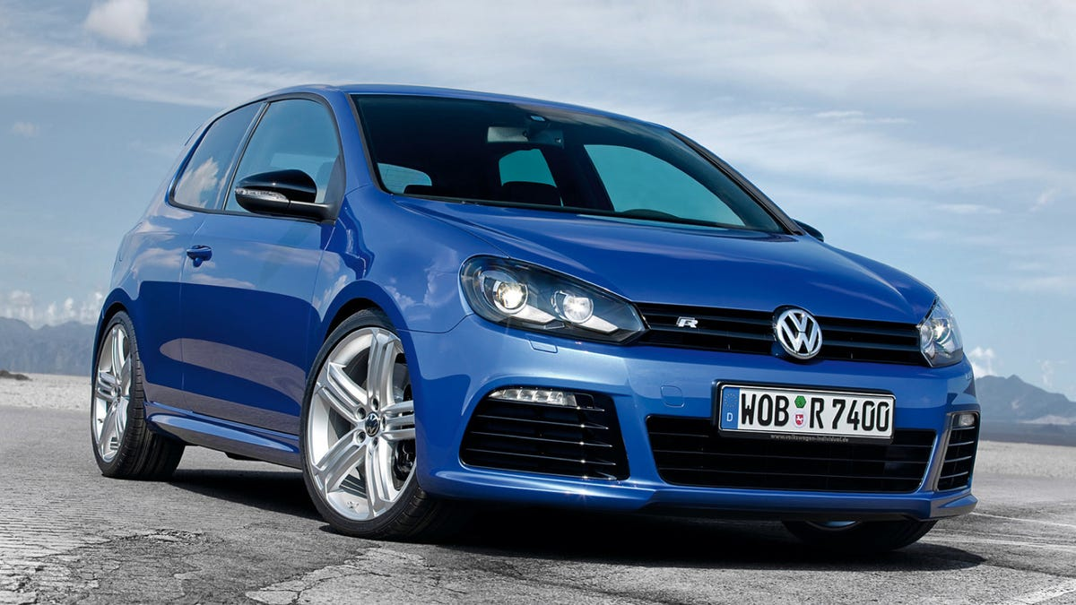 Blue, Fast And Mean: The History Of The Volkswagen R32 And