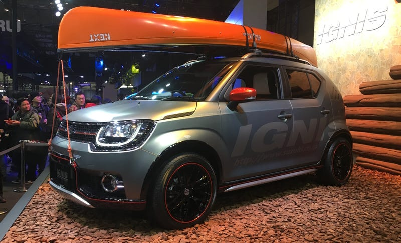 Illustration for article titled Suzuki Ignis iM-4: This Is It, Canoe Sold Separately