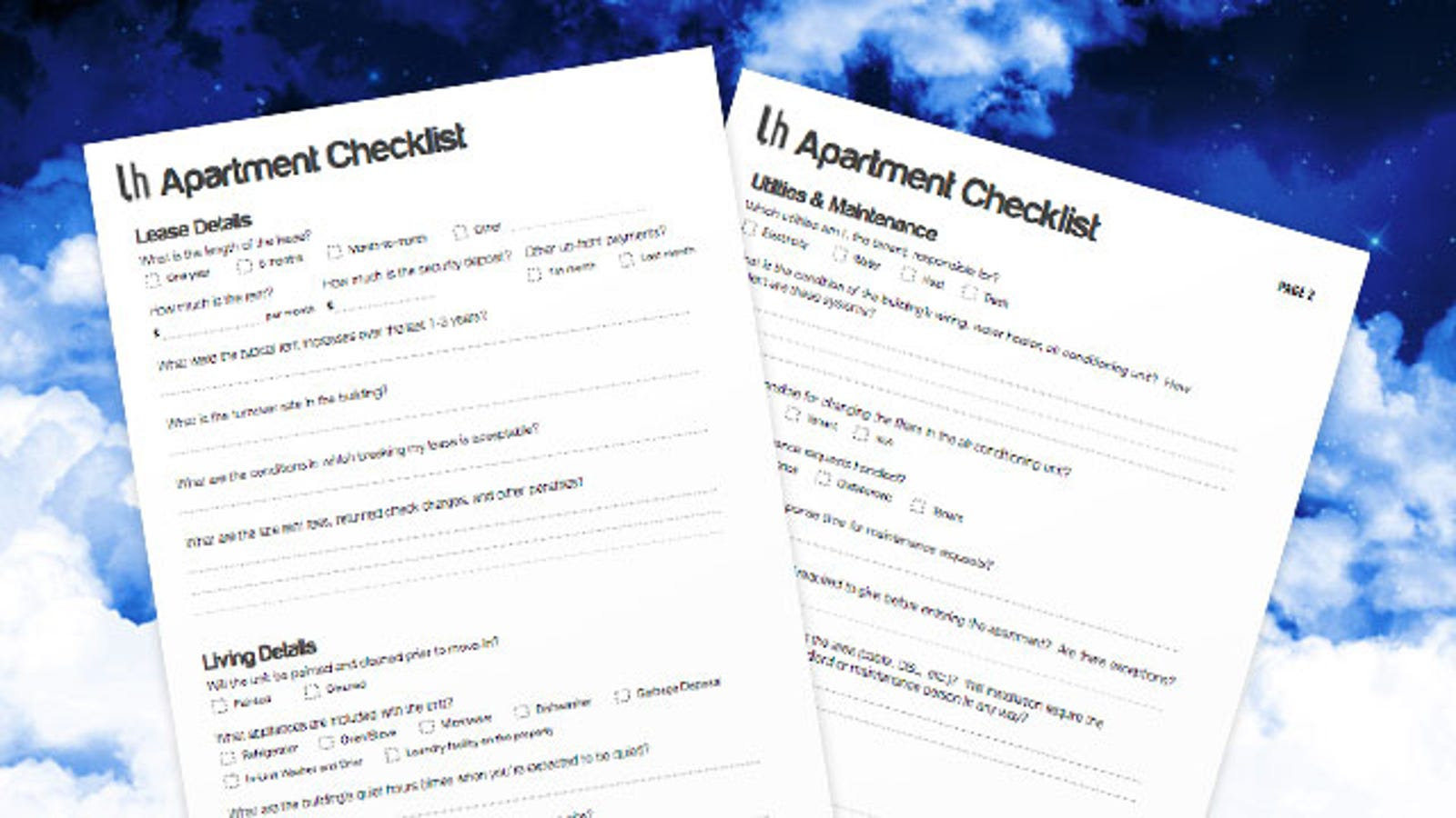 bring this checklist with you next time you re apartment hunting