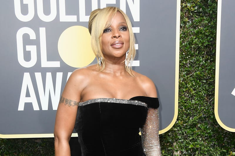 Mary J. Blige at the Golden Globes on Jan. 7, 2018, in Beverly Hills, Calif. (Frazer Harrison/Getty Images)