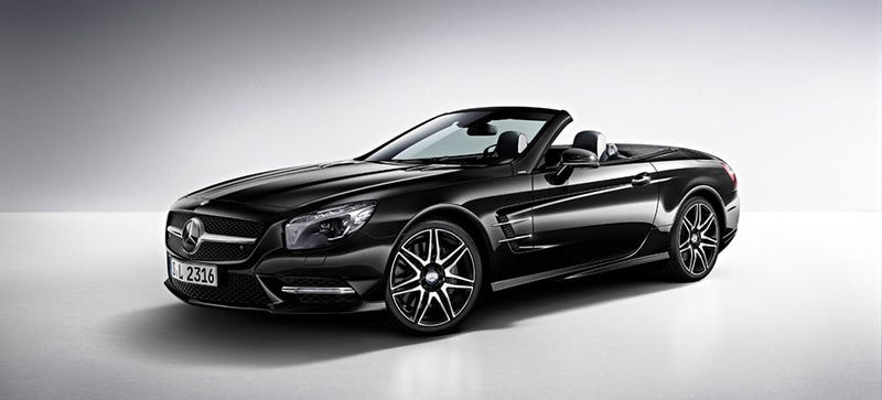 Illustration for article titled You'll Soon Be Able To Buy A Big Convertible Mercedes With A V6