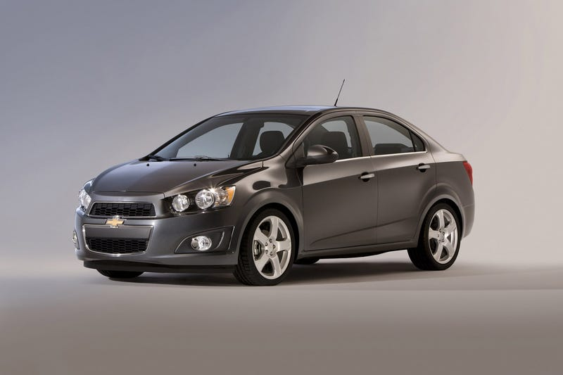 Illustration for article titled The 2012 Chevrolet Sonic is Not Kidding