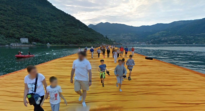 "Christo and Jeanne-Claude's ""The Floating Piers"""