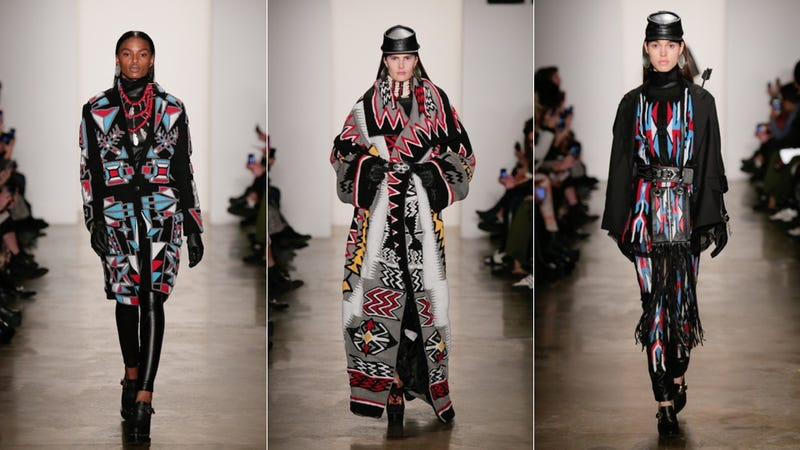 Ktz Appropriates Native American Culture At Fashion Week