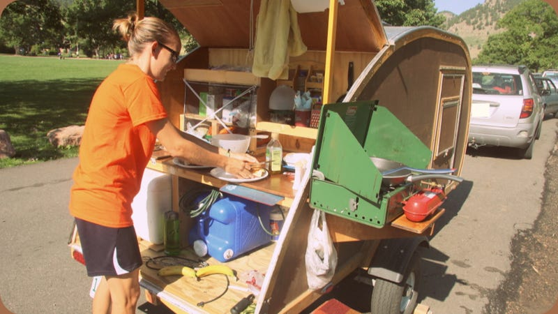 Illustration for article titled How To Build A Small Camping Trailer: Pictures