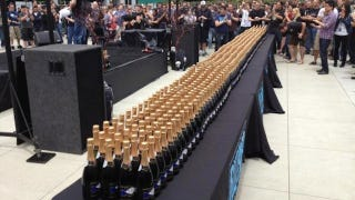 Illustration for article titled Blizzard Celebrates Diablo III's Success With An Insane Amount of Champagne