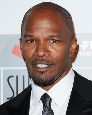 Jamie Foxx will play the lead in Django Unchained. (Getty)