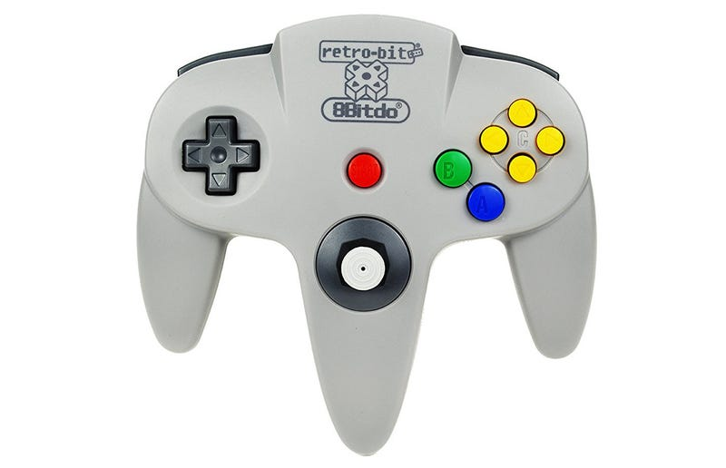 This Bluetooth N64 Controller Is Every 90s Kid's Dream