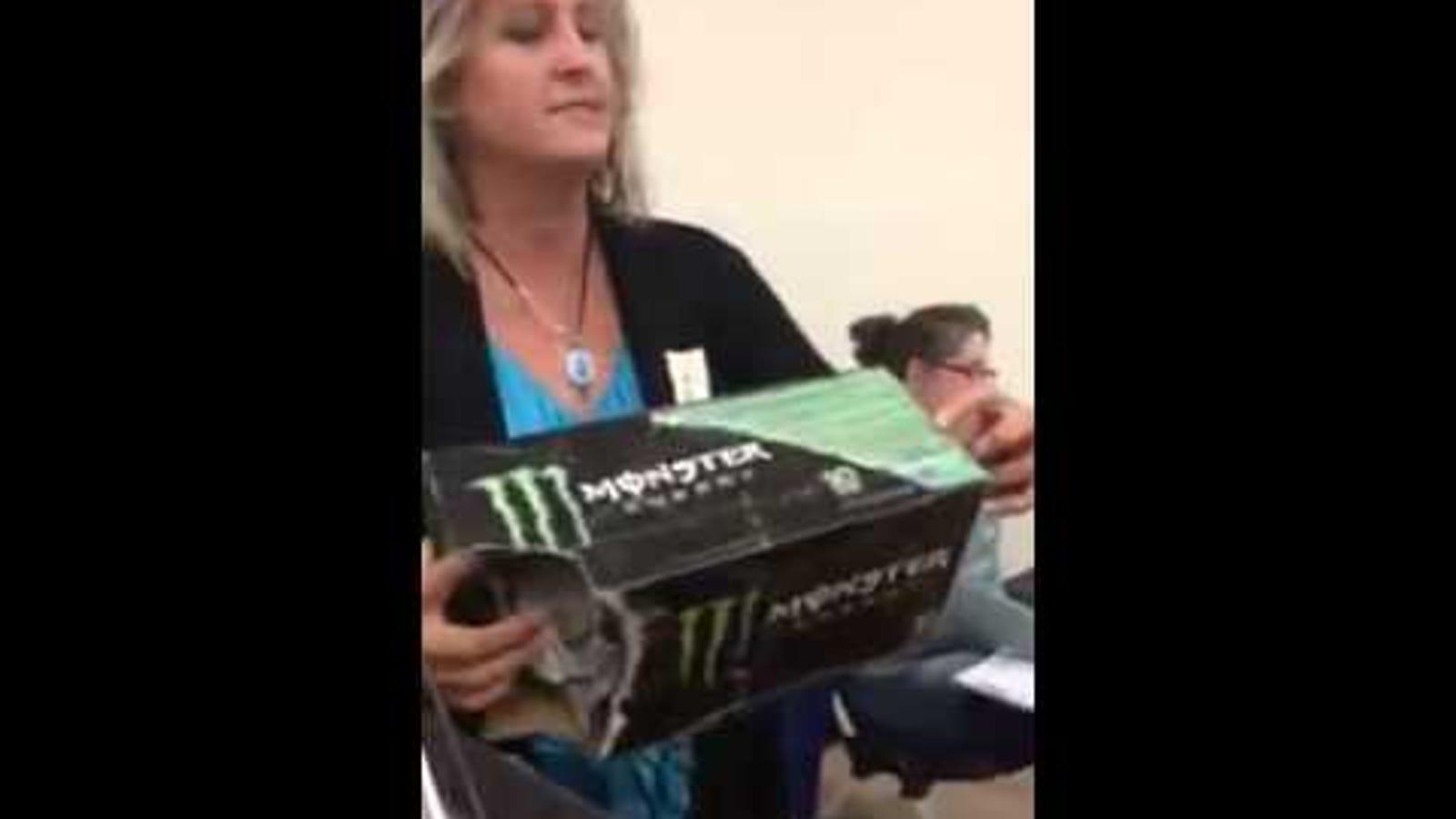 Christian Mom Knows Secret Ingredient In Monster Energy Drink Satan