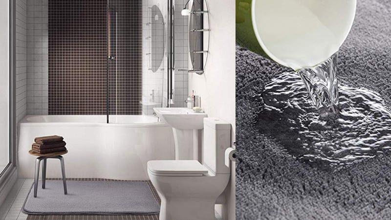 LOCHAS Extra Trick Memory Foam Absorbent Bath Mat | $13 | Amazon | Clip 30% off coupon