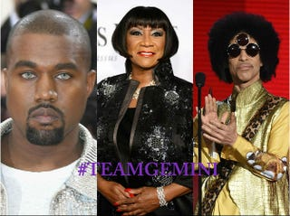 Kanye West; Patti LaBelle; PrinceLarry Busacca/Getty Images; Dimitrios Kambouris/Getty Images; Kevin Winter/Getty Images