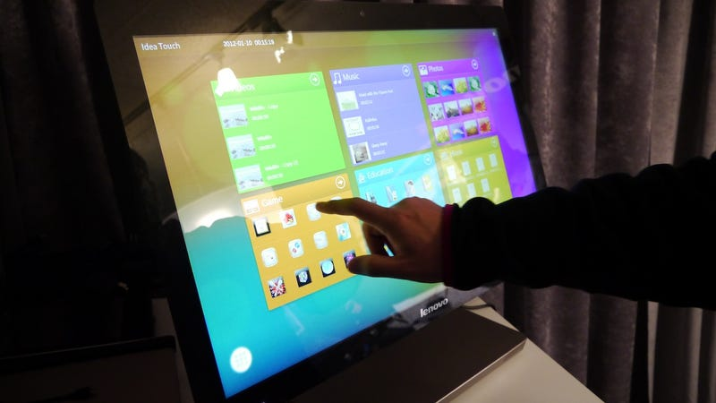 Illustration for article titled Lenovo's A720 Might Be the Multitouch All-In-One PC We've All Dreamed Of