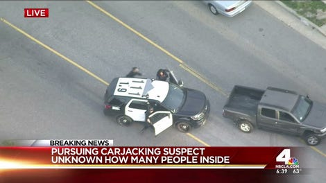 Police Appear To Shoot Stolen Van Suspect On Live Television