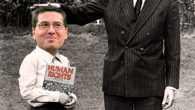 Illustration for article titled The Problem With Native American Slurs, According To Dan Snyder's Dad