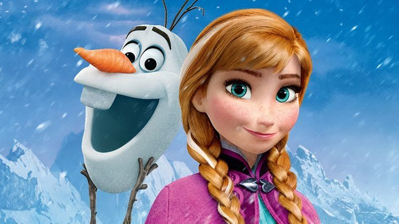 A scene from Frozen, as well as 1970s Peru.