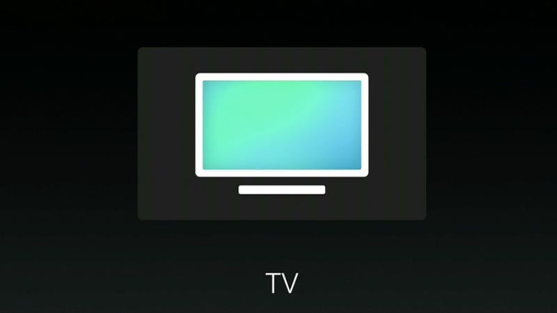 Illustration for article titled Apple Invents TV