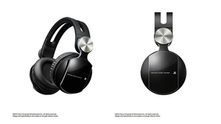 Illustration for article titled Sony PS3's New Gaming Headset Brings Extra Bass