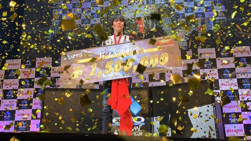 Illustration for article titled Evo Japan Champion Gets To Keep His Prize Money Despite Japan's Confusing Laws