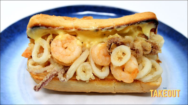 Illustration for article titled The Spanish fried squid sandwich that almost got away