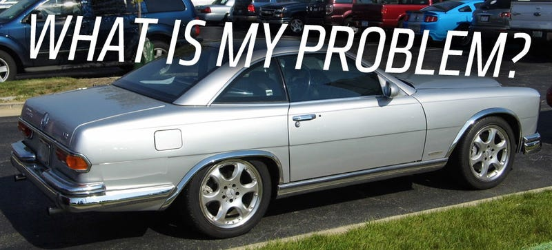 Illustration for article titled I Really Should Hate This Retro-ized Mercedes More