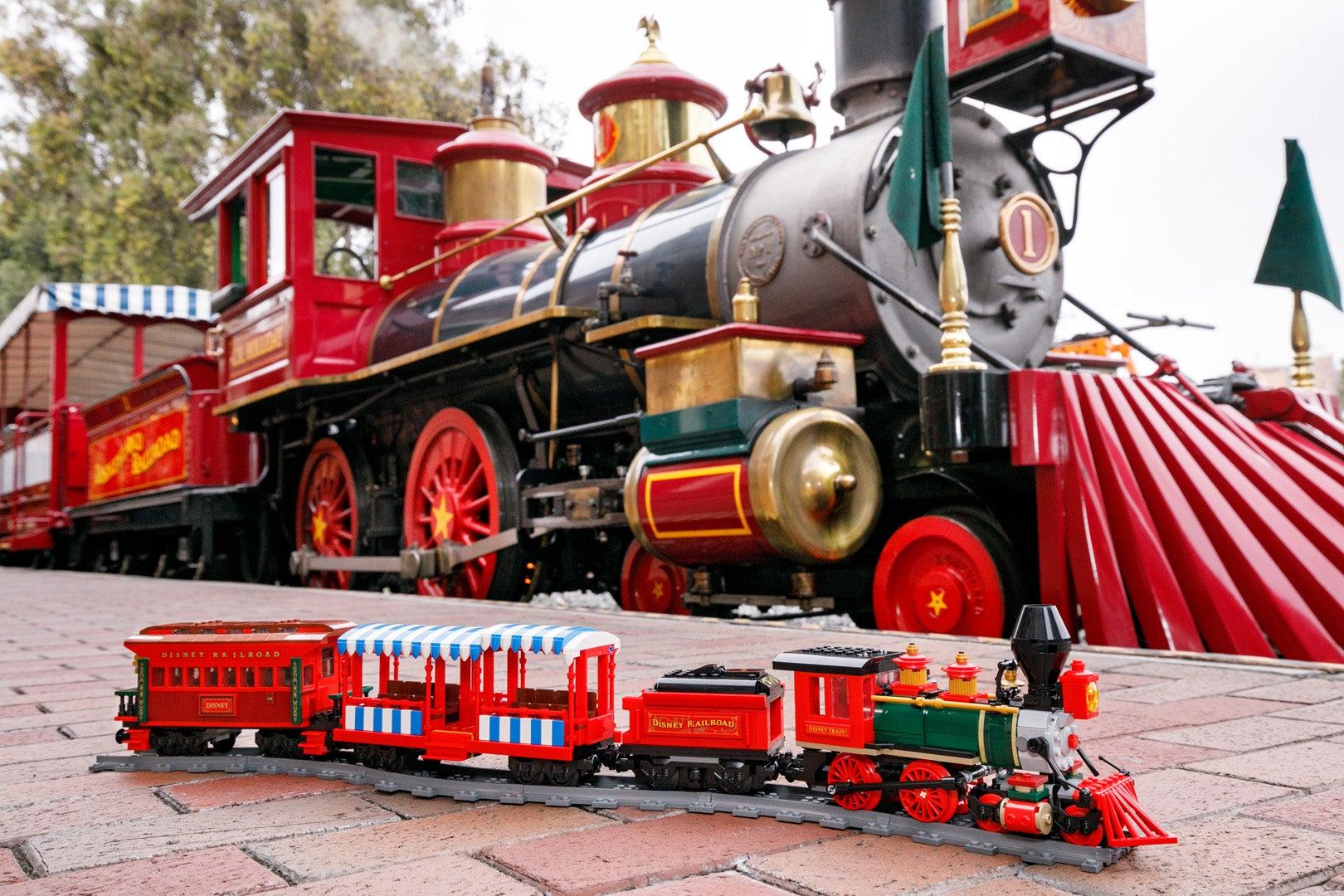 Lego's Motorized Disney Train Set Looks Like It Just Pulled