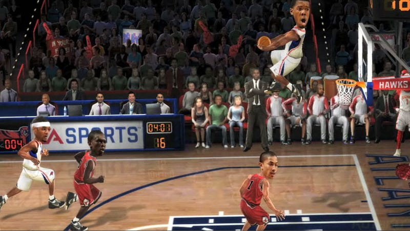 Illustration for article titled EA Sports Throws in the Towel on NBA Jam