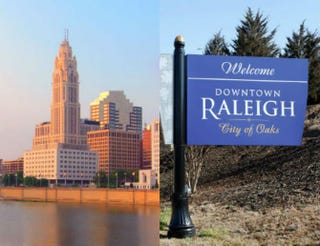 Columbus, Ohio; Raleigh, N.C.iStock