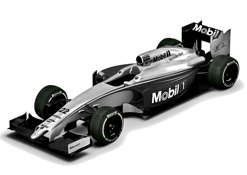 Illustration for article titled Mclaren To Have Special 1-Off Mobil 1 Livery To Celebrate 20 Years