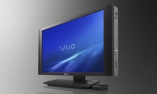 "Illustration for article titled Sony VAIO RT All-In-One PC Is A 25.5"" Widescreen, HDMI-Filled, Video Editing Monster"