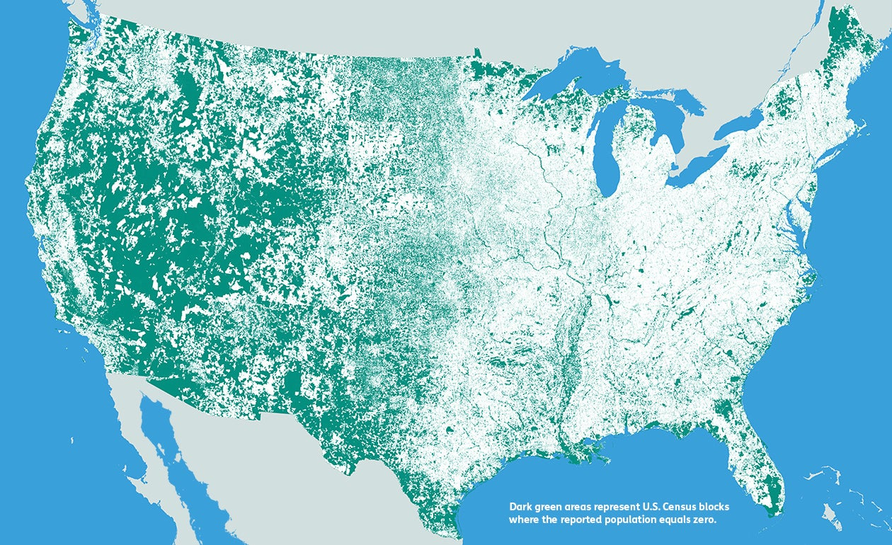 How You Count Matters Maps of Census Data in the US