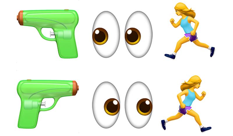 Illustration for article titled En 2018 podrás disparar a tu caca desde el lado que quieras: Unicode propone que los emoji se puedan voltear