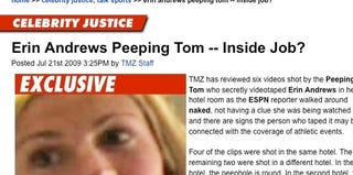 Illustration for article titled TMZ's Bamboozling Erin Andrews Coverage