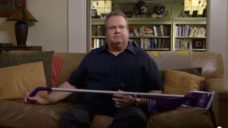 Husband tricked into cleaning his own house writes very for Eric stonestreet house