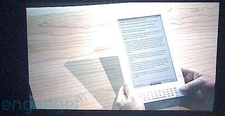 Illustration for article titled Newspaper-Saving Kindle DX to Feature 9.7-Inch Screen and PDF Support