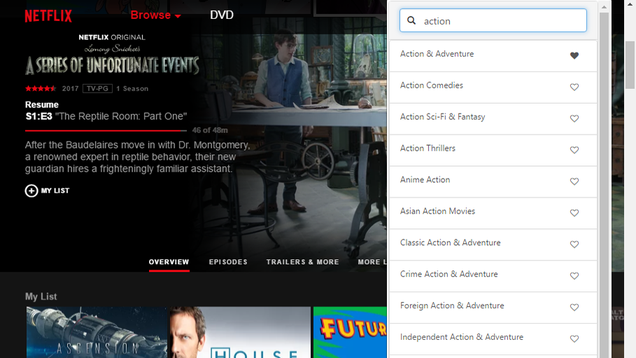 Search Hidden Netflix Categories and Save Your Favorites With This Extension