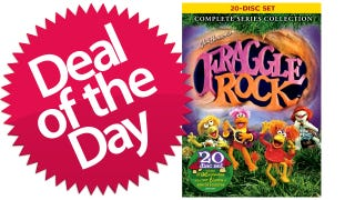 Illustration for article titled Fraggle Rock: The Complete Series Is Your Down-In-Fraggle-Rock Deal of the Day