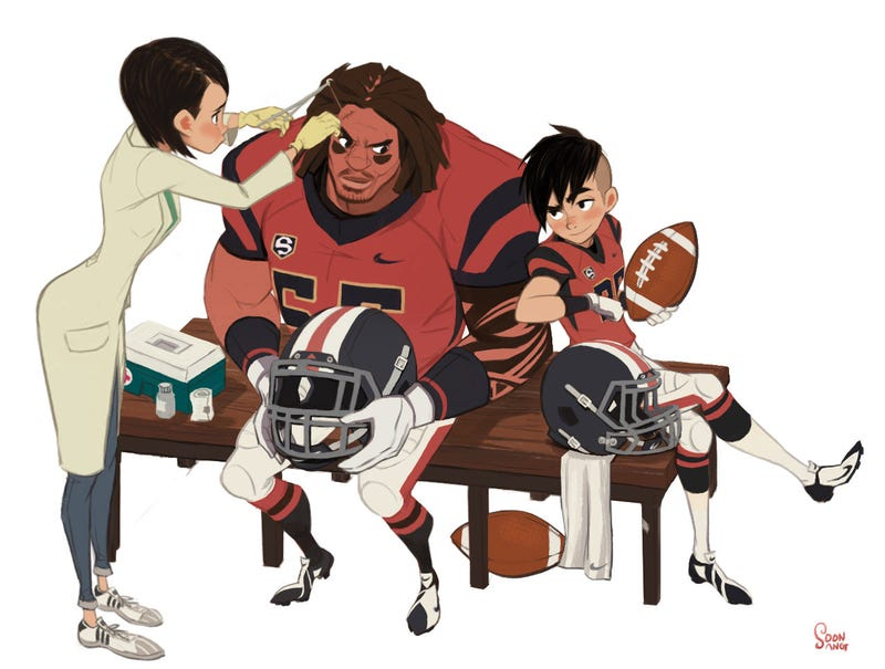 Illustration for article titled Please, Make A Cartoon About This Football Team