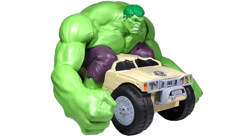 Illustration for article titled RC Hulk Does Exactly What Kids Want Him To: Smash Stuff