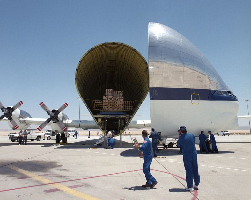 This Super-Sized Cargo Plane Carries NASA's Biggest Loads