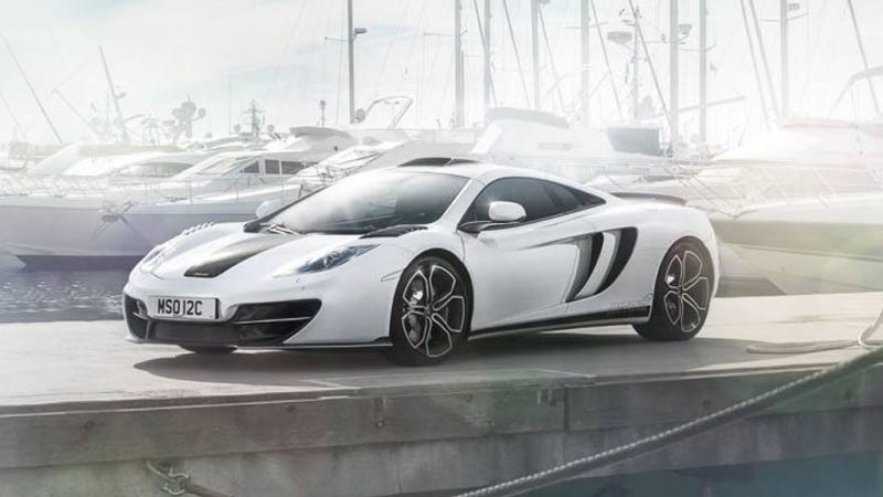 Illustration for article titled McLaren 12C Declares It Can Be Speciale Too With The MSO 12C Concept