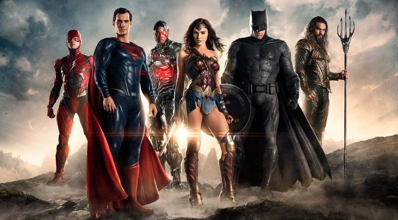 An official image of the Justice League, released a month after this article was originally published. We've since changed it out. All images: Warner Bros.