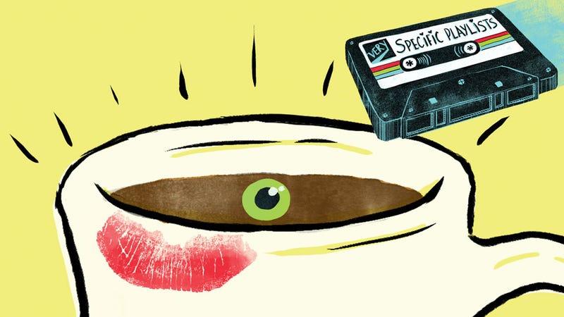 Illustration for article titled A Playlist For Getting Super Zooted On Coffee and, Thus, Typing So Fast