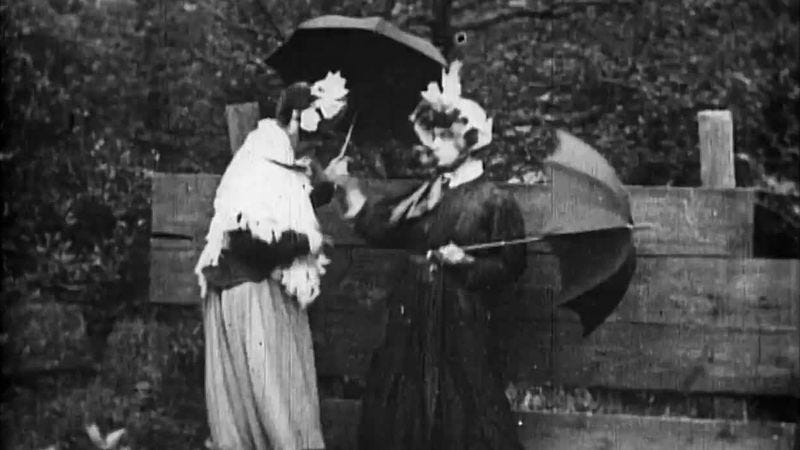 Women's Rights (Ladies' Skirts Nailed To A Fence) (Image: BFI)