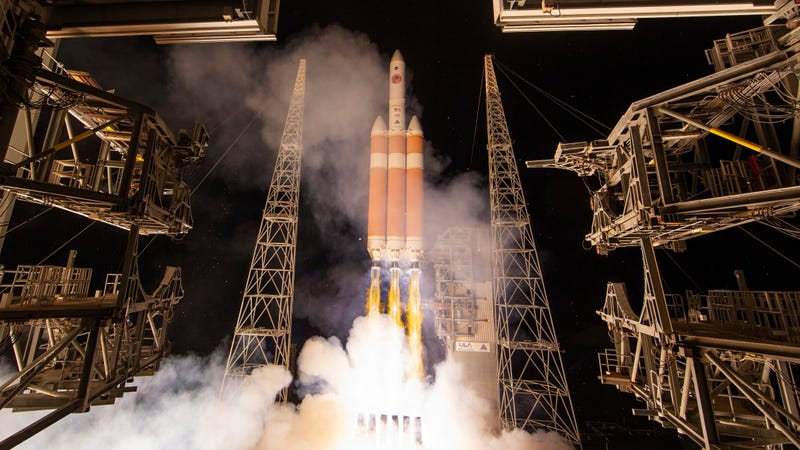 The Parker Solar Probe launching at Cape Canaveral on August 12th, 2018.